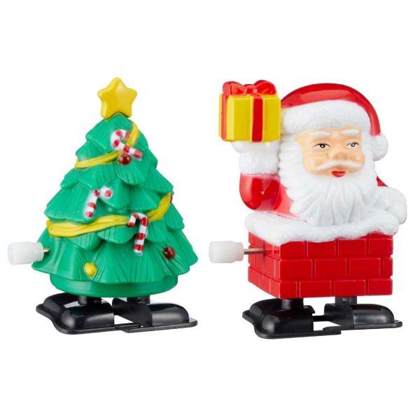 Aufziehfigur, Weihnachten, sortiert