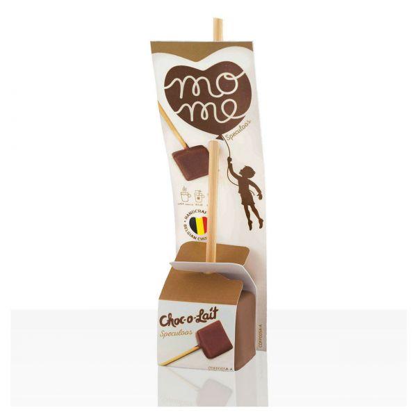 Trinkschokolade am Stiel, Spekulatius, Choc-o-lait