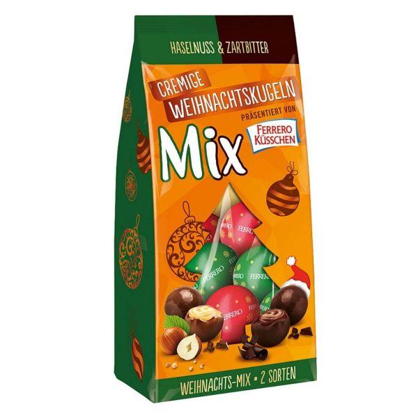 Ferrero Küsschen Cremige Weihnachtskugeln, Mix