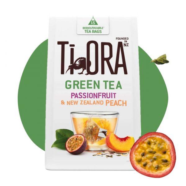 Ti Ora Tee, Green Tea Passionfruit