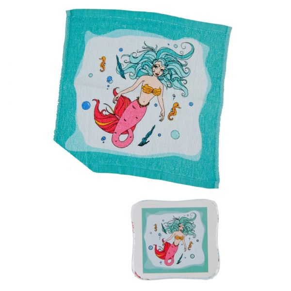 Magic Towel Meerjungfrau, 30 x 30 cm