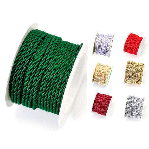 Geschenkkordel, verschiedene Farben