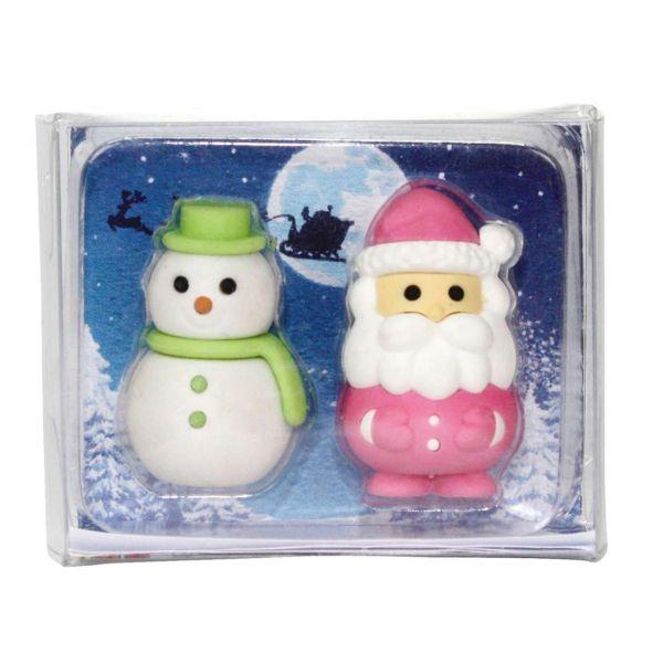 Radiergummi Weihnachten Santa & Olaf