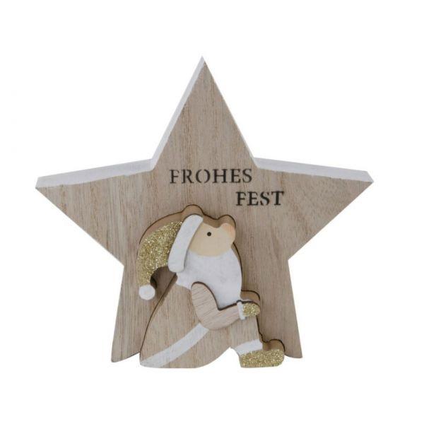 """Dekostern """"Frohes Fest"""""""