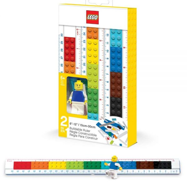LEGO Lineal mit Figur