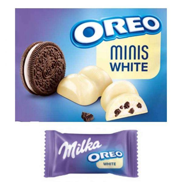 Oreo Minis, White