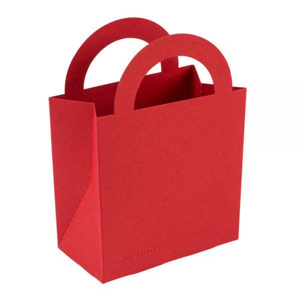 BB Geschenktüte colour bag S, rubinrot