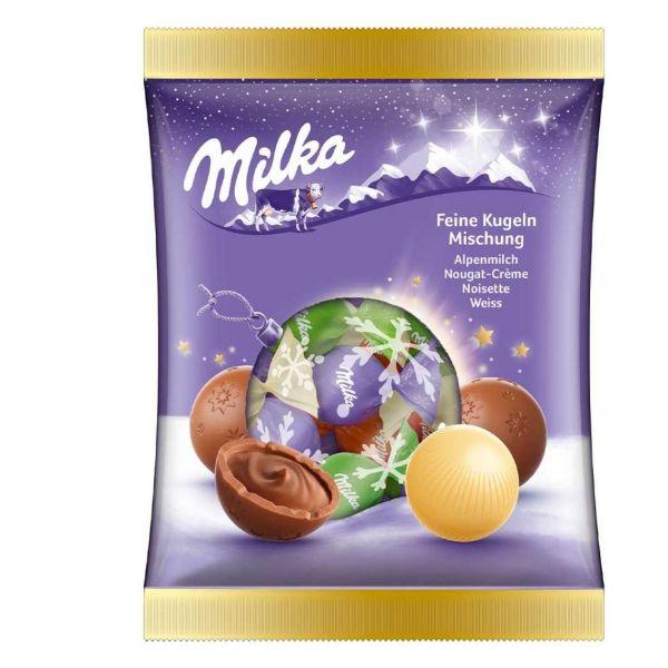 Milka Feine Kugeln Mischung, 133 g