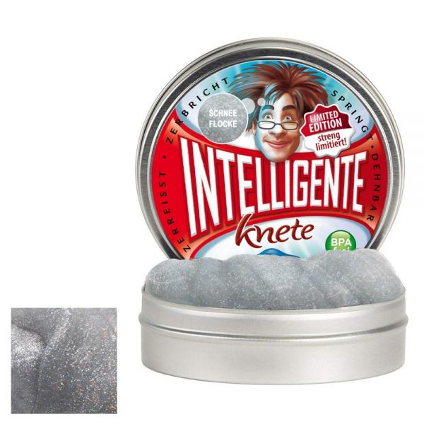 Intelligente Knete Schneeflocke - Limited Edition