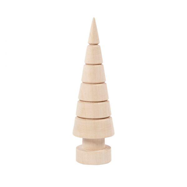 Holz-Tannenbaum 12,5 cm