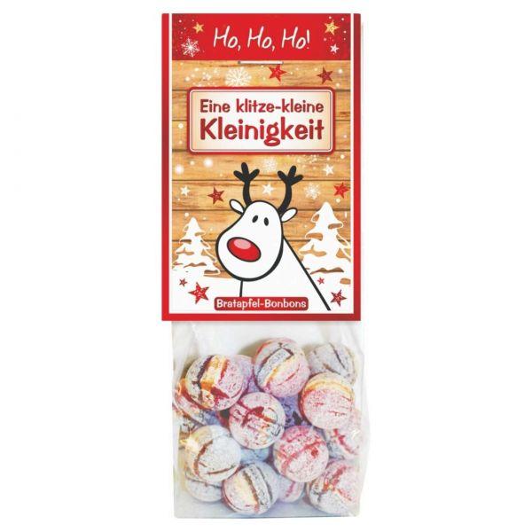 Weihnachtsbonbons Bratapfel, Klitze Kleinigkeit, 80 g